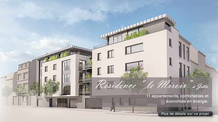 Teraterre projets immobiliers r sidence la marka for Miroir jette